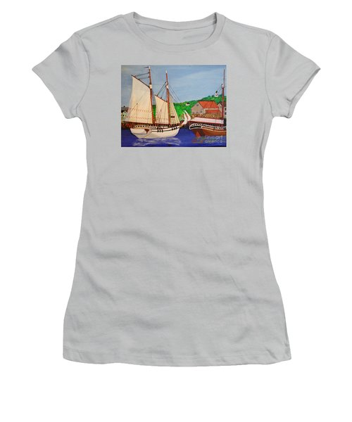Waiting For The Salt Women's T-Shirt (Athletic Fit)