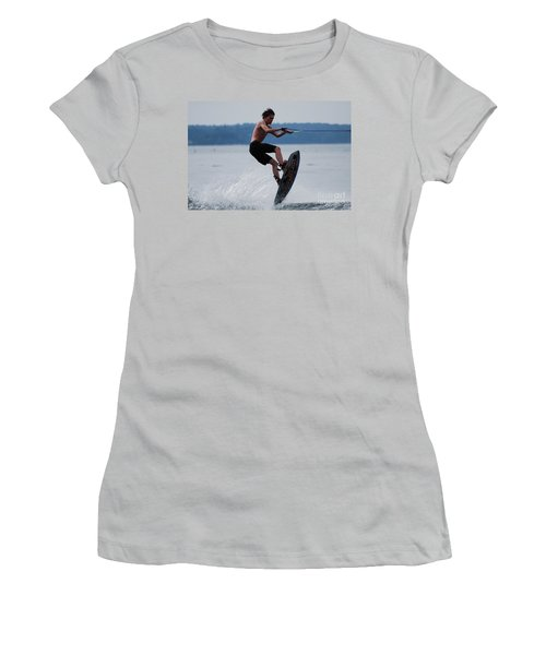 Wakeboarder Women's T-Shirt (Athletic Fit)