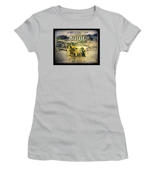 Welcome To Bodie California Women's T-Shirt (Athletic Fit)