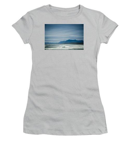 West Coast Exposure  Women's T-Shirt (Junior Cut) by Roxy Hurtubise