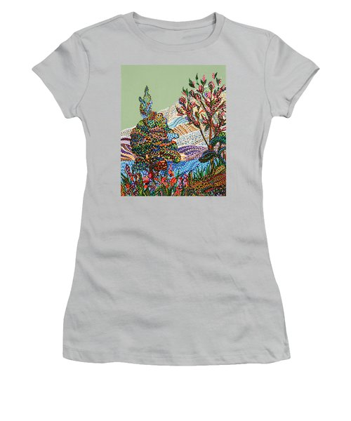 White Hills Women's T-Shirt (Athletic Fit)