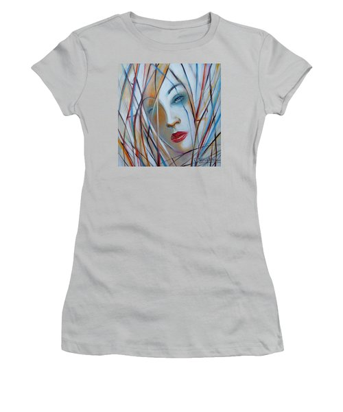 White Nostalgia 010310 Women's T-Shirt (Athletic Fit)