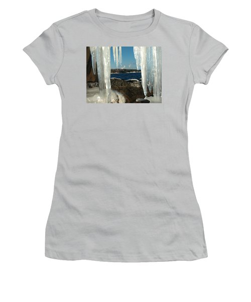 Women's T-Shirt (Junior Cut) featuring the photograph Window Into Minnesota by James Peterson