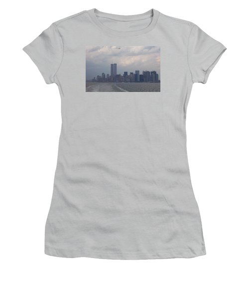 World Trade Center May 2001 Women's T-Shirt (Athletic Fit)