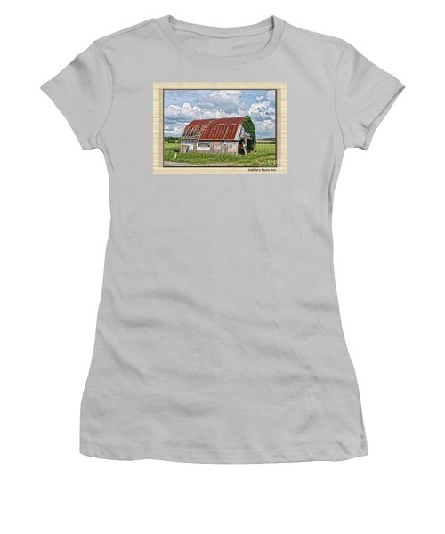 Women's T-Shirt (Junior Cut) featuring the photograph Vote For Me I by Debbie Portwood