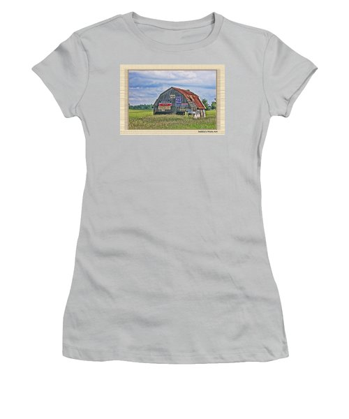 Women's T-Shirt (Junior Cut) featuring the photograph Vote For Me II by Debbie Portwood