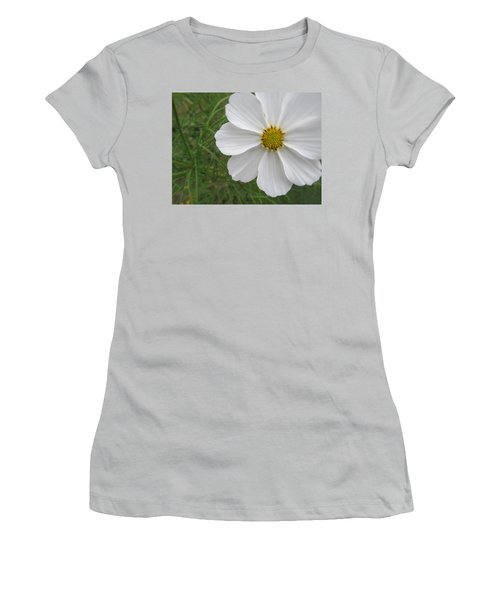 Women's T-Shirt (Junior Cut) featuring the photograph White Beauty by Tina M Wenger