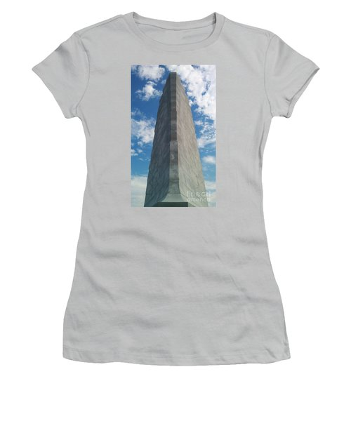 Wright Brothers Memorial Women's T-Shirt (Athletic Fit)