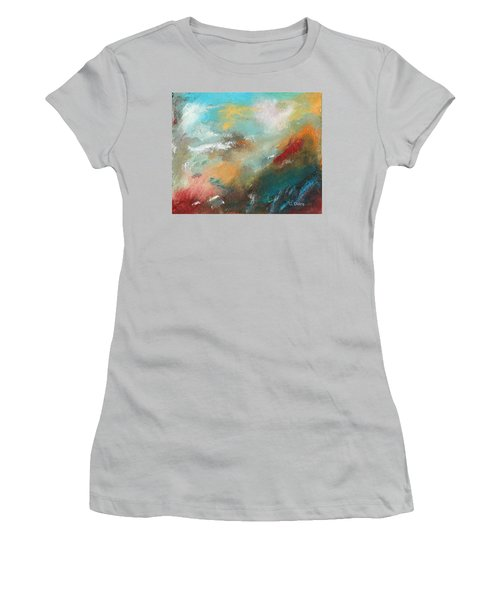 Abstract No 1 Women's T-Shirt (Athletic Fit)