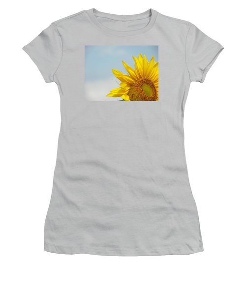 Almost Noon Women's T-Shirt (Junior Cut) by Lenore Senior
