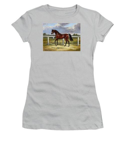 Arabian Horse Women's T-Shirt (Athletic Fit)