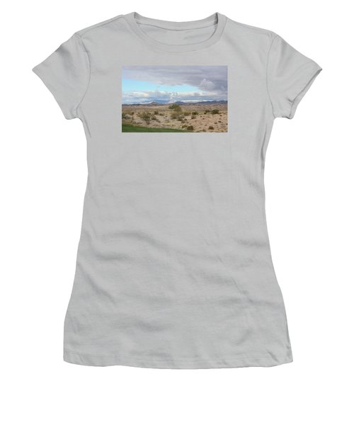 Arizona Desert View Women's T-Shirt (Athletic Fit)