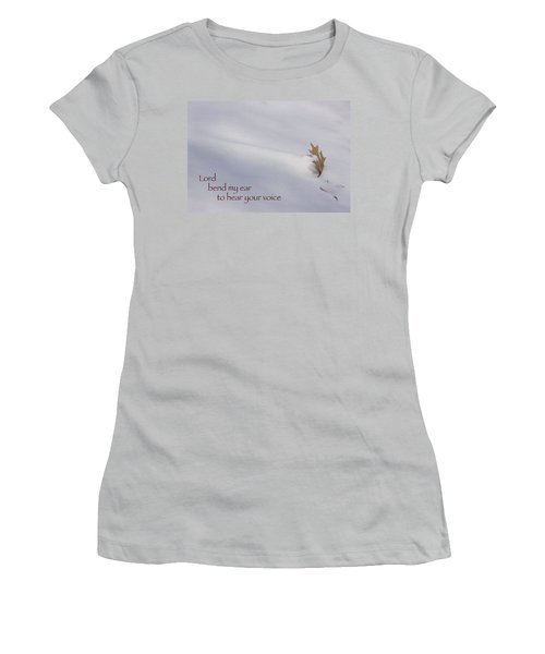 Bend My Ear Women's T-Shirt (Athletic Fit)