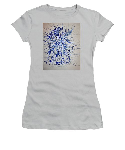 Birth Women's T-Shirt (Junior Cut) by Gloria Ssali