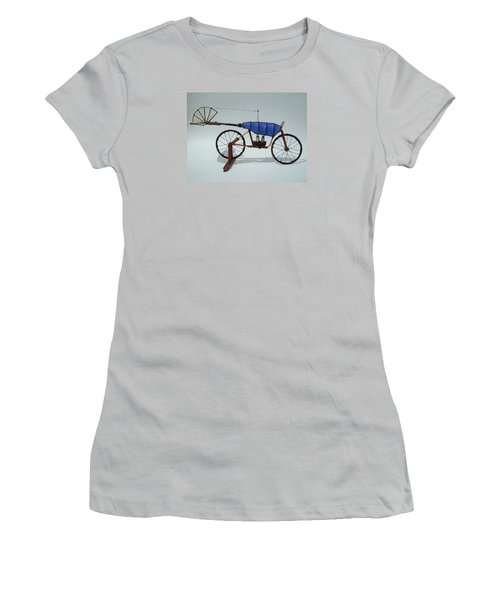 Blue Caravan Women's T-Shirt (Athletic Fit)