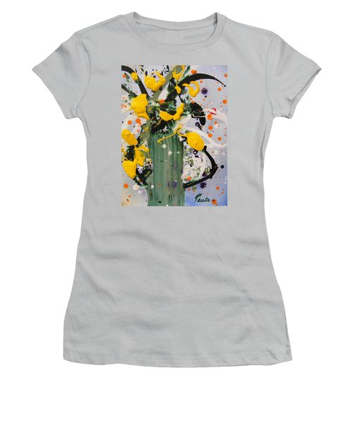 Buttercups Women's T-Shirt (Athletic Fit)