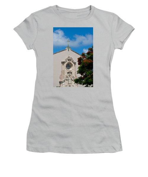 Women's T-Shirt (Junior Cut) featuring the photograph Church Of The Little Flower by Ed Gleichman