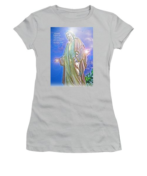 Easter Miracle Women's T-Shirt (Junior Cut) by Marie Hicks