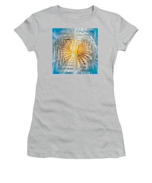 Escrow Vault Women's T-Shirt (Junior Cut) by Mark Greenberg
