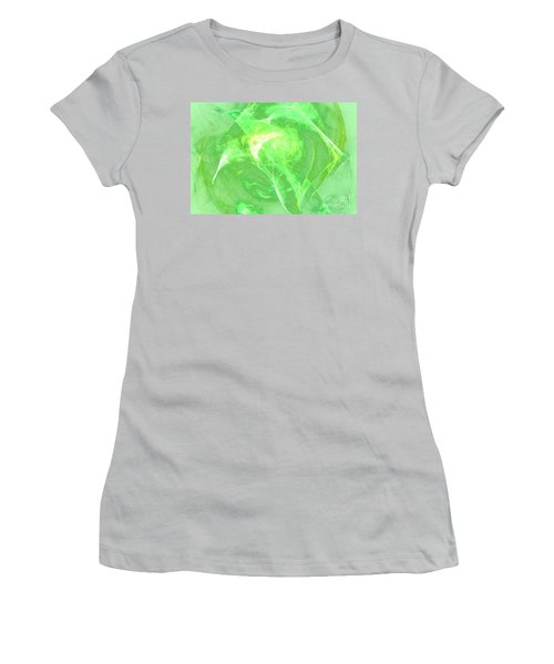 Women's T-Shirt (Junior Cut) featuring the digital art Ethereal by Kim Sy Ok