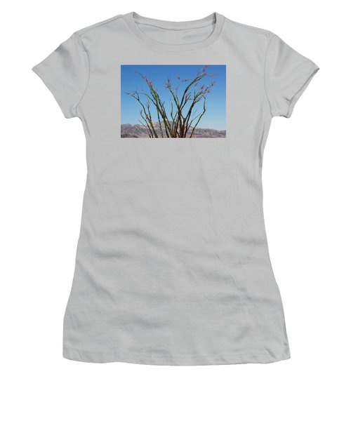 Fingers To The Sky Women's T-Shirt (Athletic Fit)