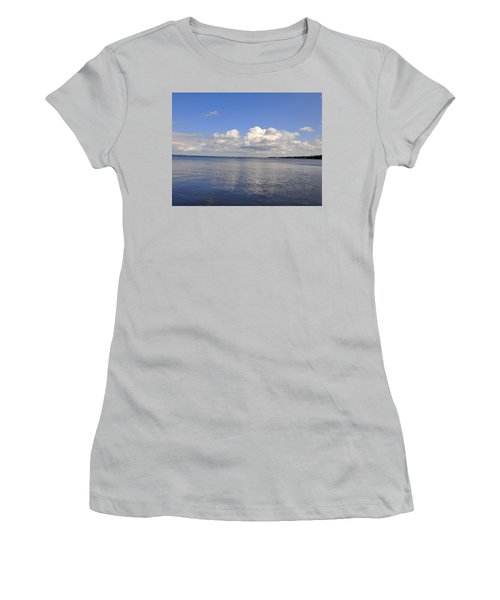 Women's T-Shirt (Junior Cut) featuring the photograph Floridian View by Sarah McKoy