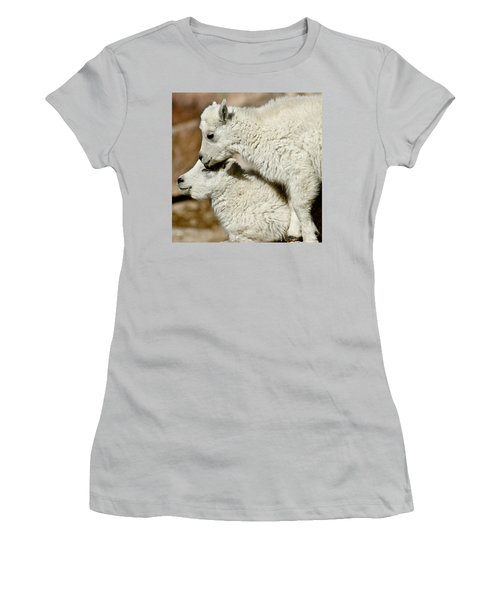 Goat Babies Women's T-Shirt (Athletic Fit)