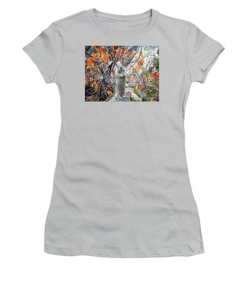 Hey There Women's T-Shirt (Junior Cut) by Dorrene BrownButterfield