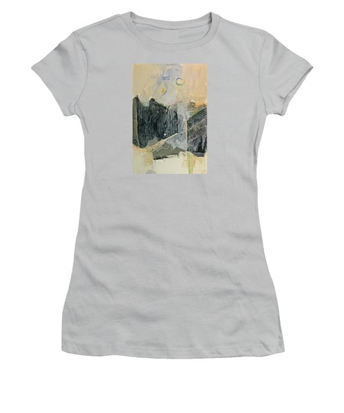 Hits And Mrs Or Kami Hito E  Detail  Women's T-Shirt (Junior Cut) by Cliff Spohn