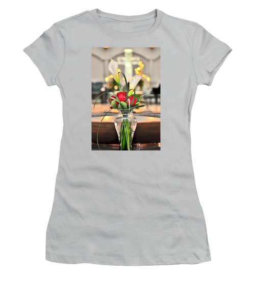 Women's T-Shirt (Junior Cut) featuring the photograph Holy Water by Brian Duram