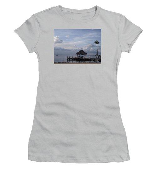 Key Largo Retreat Women's T-Shirt (Athletic Fit)