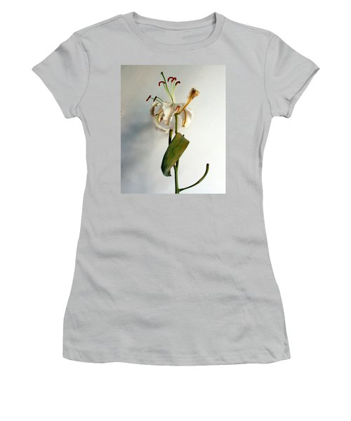 Women's T-Shirt (Junior Cut) featuring the photograph Last Moments by Pravine Chester