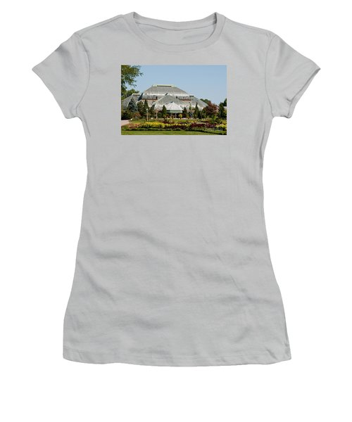 Lincoln Park Zoo In Chicago Women's T-Shirt (Athletic Fit)