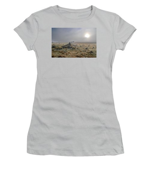 Misty Sunrise Women's T-Shirt (Athletic Fit)