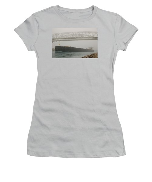 Only A Stones Throw Away Women's T-Shirt (Athletic Fit)