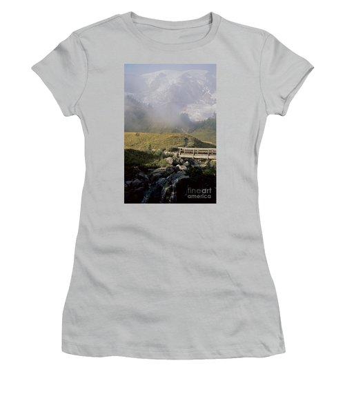 Women's T-Shirt (Junior Cut) featuring the photograph Paradise Valley by Sharon Elliott