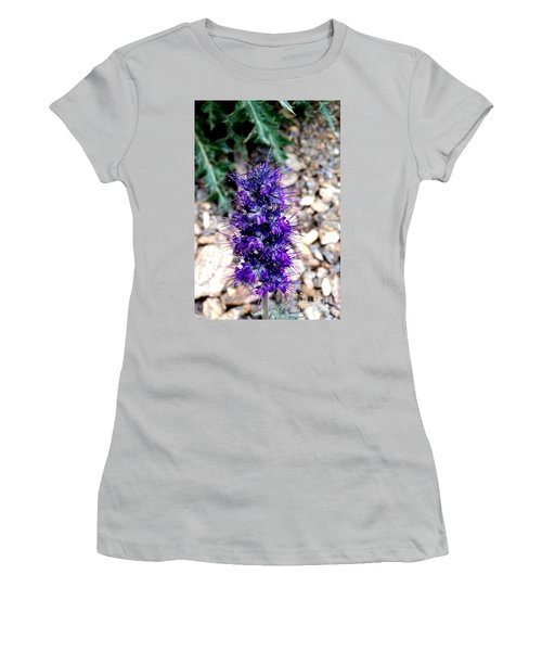 Purple Reign Women's T-Shirt (Junior Cut) by Dorrene BrownButterfield