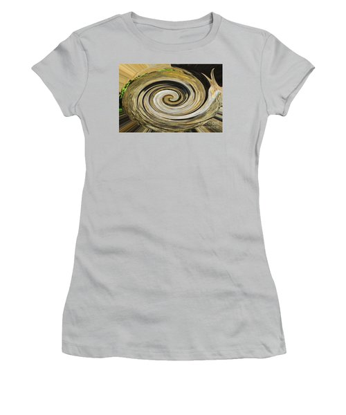 Women's T-Shirt (Junior Cut) featuring the photograph Rocky Road by Cindy Manero