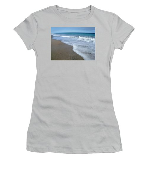 Seascape Wrightsville Beach Nc  Women's T-Shirt (Athletic Fit)
