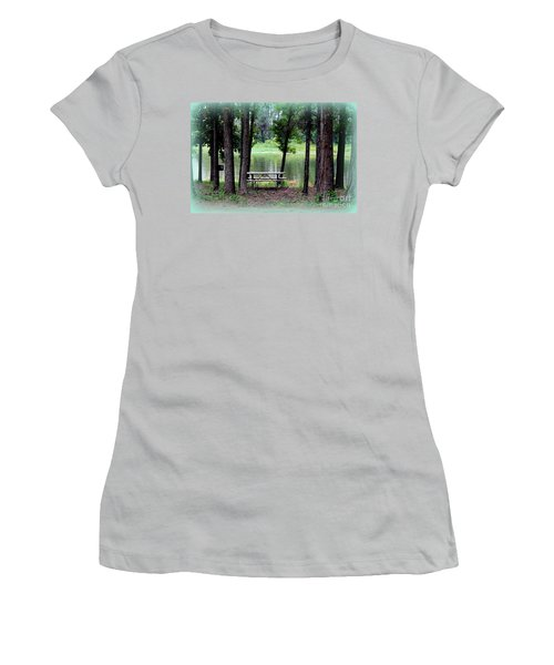 Women's T-Shirt (Junior Cut) featuring the photograph Serene Escape by Kathy  White