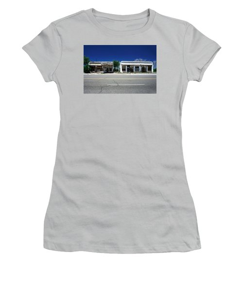 Women's T-Shirt (Junior Cut) featuring the photograph Somewhere On Hwy 285 Number Two by Lon Casler Bixby