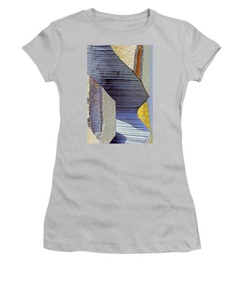 Stone Geometrics Women's T-Shirt (Athletic Fit)