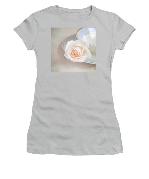 The Sweetest Rose Women's T-Shirt (Junior Cut) by Lyn Randle
