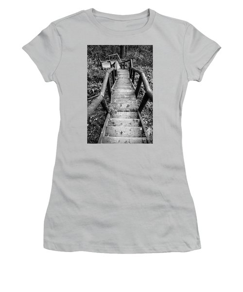 The Way Down Women's T-Shirt (Athletic Fit)