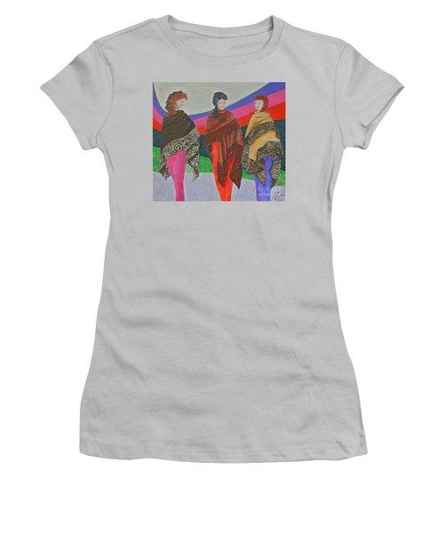 Three Women Women's T-Shirt (Athletic Fit)