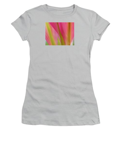 Ti Leaves Women's T-Shirt (Athletic Fit)