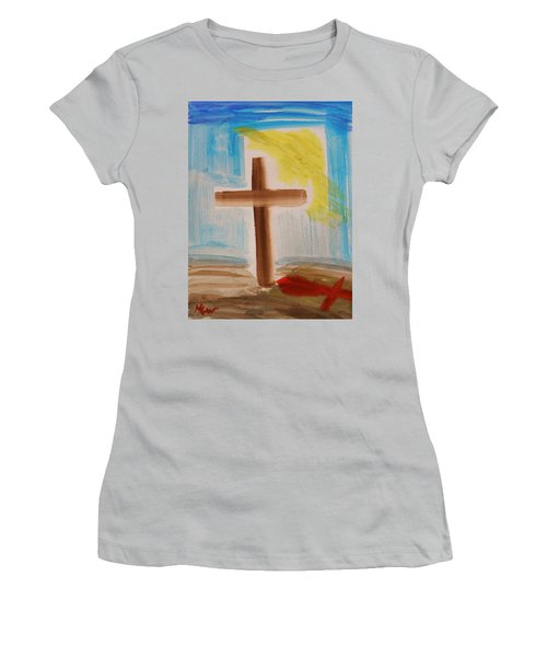 Tim Tebow's Cross-easter Monday Women's T-Shirt (Athletic Fit)