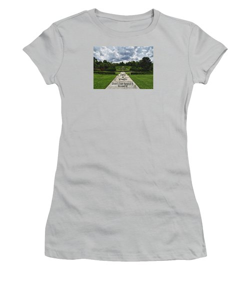 Time Is Wealth Women's T-Shirt (Junior Cut) by Barbara Middleton