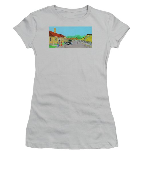 Wayne Hills 1948 Women's T-Shirt (Junior Cut) by Frank Hunter