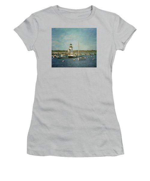 Welcome To Nantucket Women's T-Shirt (Athletic Fit)